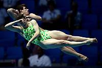 Matthew Carter, Maddison Keeney AUS Australia Gold Medal <br /> Gwangju South Korea 20/07/2019<br /> Mixed 3m Synchro Springboard Final <br /> 18th FINA World Aquatics Championships<br /> Nambu University Aquatics Center  <br /> Photo © Andrea Staccioli / Deepbluemedia / Insidefoto