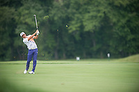 Rickie Fowler in action during the opening round of the US PGA Championship at Valhalla (Photo: Anthony Powter) Picture: Anthony Powter / www.golffile.ie
