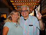 Guiding Light's Kim Zimmer went to see Broadway's sold out show - Hamilton - An American Musical on August 21, 2015 at the Richard Rodgers Theatre, New York City - with book, lyrics and directed by Lin-Manuel Miranda and he stars as Hamilton.  (Photos by Sue Coflin/Max Photos)