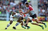 Semesa Rokoduguni of Bath Rugby takes on the Harlequins defence. Gallagher Premiership match, between Harlequins and Bath Rugby on September 15, 2018 at the Twickenham Stoop in London, England. Photo by: Patrick Khachfe / Onside Images
