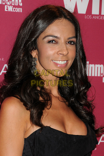 Terri Seymour.2011 Entertainment Weekly Women In Film Pre-Emmy Party held at BOA Steakhouse, West Hollywood, California, USA..September 16th, 2011.headshot portrait black cleavage.CAP/ADM/BP.©Byron Purvis/AdMedia/Capital Pictures.