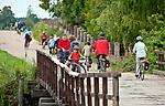 2012-08-13. Turystyka rowerowa, Mazury, Ukta