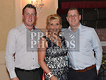 Annmarie Cudden celebrating her 50th birthday in the Westcourt hotel with sons Brian and Warren. Photo:Colin Bell/pressphotos.ie