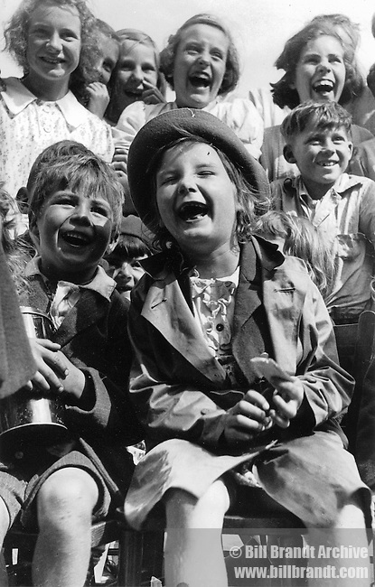 Children laughing 1940s