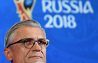 KAZAN - RUSIA, 23-06-2018: Adam NAWALKA técnico de Polonia, durante rueda de prensa en Kazan Arena previo al encuentro del Grupo H  con Colombia como parte de la Copa Mundo FIFA 2018 Rusia. / Adam NAWALKA coach of Poland during press conference in Kazan Arena prior the group H match with Colombia as part of the 2018 FIFA World Cup Russia. Photo: VizzorImage / Julian Medina / Cont