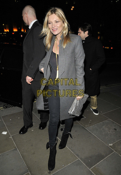 LONDON, ENGLAND - FEBRUARY 03: Kate Moss attends the David Bailey: Bailey's Stardust VIP private view, National Portrait Gallery on February 03, 2014 in London, England, UK.<br /> CAP/CAN<br /> &copy;Can Nguyen/Capital Pictures