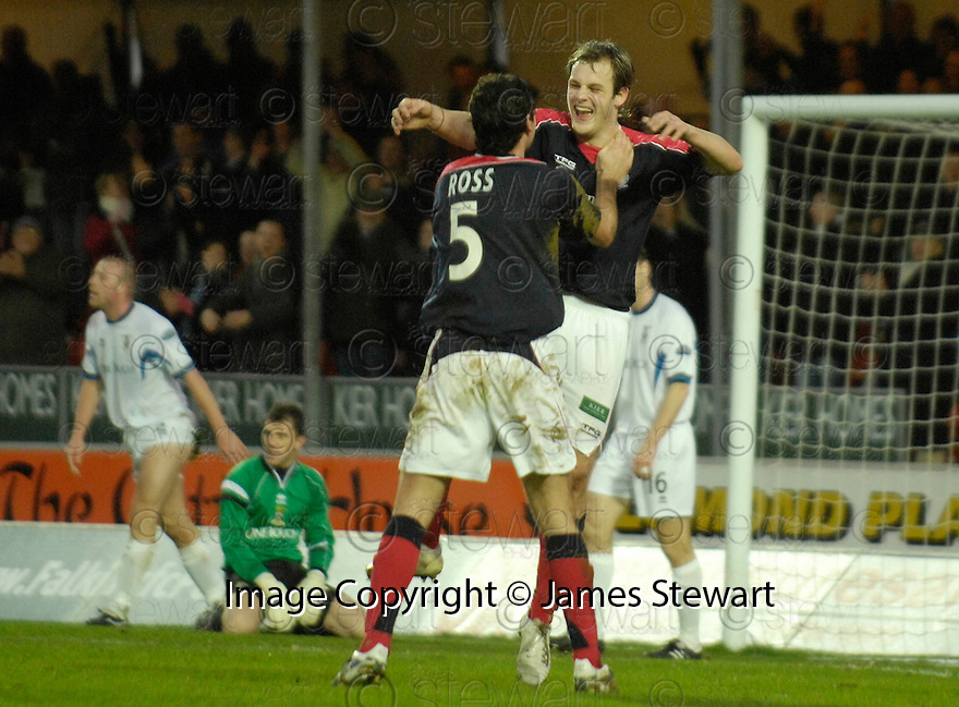 30/12/2006       Copyright Pic: James Stewart.File Name : sct_jspa05_falkirk_v_inverness.ANTHONY STOKES CELEBRATES AFTER HE SCORES FALKIRK'S THIRD.James Stewart Photo Agency 19 Carronlea Drive, Falkirk. FK2 8DN      Vat Reg No. 607 6932 25.Office     : +44 (0)1324 570906     .Mobile   : +44 (0)7721 416997.Fax         : +44 (0)1324 570906.E-mail  :  jim@jspa.co.uk.If you require further information then contact Jim Stewart on any of the numbers above.........