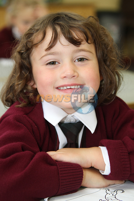 1st Day at School 2010, Ballapousta NS..Picture Jenny Matthews/Newsfile.ie