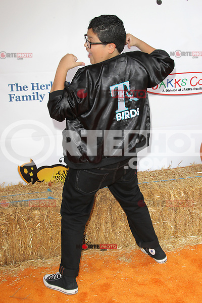UNIVERSAL CITY, CA - OCTOBER 21:  Rico Rodriguez at the Camp Ronald McDonald for Good Times 20th Annual Halloween Carnival at the Universal Studios Backlot on October 21, 2012 in Universal City, California. ©mpi28/MediaPunch Inc. /NortePhoto