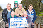 Tomas cronin, Paul Sweeney, David Rees, William Mangan and Stephen Cronin from Fossa Community Alert keeping a vigiliant eye on their community this Christmas    Copyright Kerry's Eye 2008