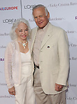 Buzz Aldrin and wife Lois at the premiere of Vicky Cristina Barcelona, held at Mann Village Theatre in Westwood, Ca. August 4, 2008.