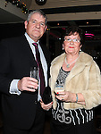 Des and Evelyn Flanagan pictured at the O'Raghalligh's dinner dance in the Westcourt hotel. Photo: Colin Bell/pressphotos.ie