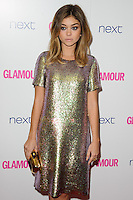 Sarah Hyland arrives for the Glamour Women of the Year Awards 2014 in Berkley Square, London. 03/06/2014 Picture by: Steve Vas / Featureflash