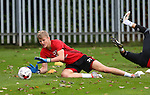 Jake Eastwood of Sheffield Utd during the Sheffield Utd training session at the Shirebrook training complex, Sheffield. Picture date: 2nd September 2016. Picture Simon Bellis/Sportimage