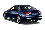 Car pictures of rear three quarter view of 2017 Mercedes Benz C Class Base 4 Door Sedan angular rear