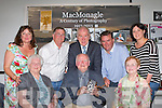 Minister Jimmy Deenihan officially opened the McMonagle A Century of Photograpy exhibition in the Killarney library on Saturday night front row l-r: Bernie and Paddy McMonagle and Kathleen Keogh. Back row: Mary Susan, Don McMonagle, Minister Deenihan, Eamon Keogh and Mary Susan McMonagle