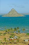 ILot  sacre et inhabite de Nosy Lonjo dans la baie de  Diego Suarez