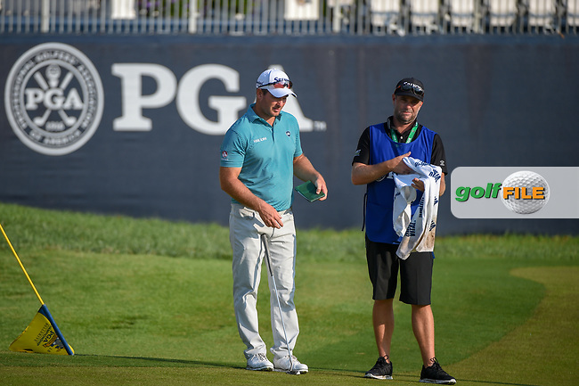 Ryan Fox (NZL) after sinking his long putt on 9 during 2nd round of the 100th PGA Championship at Bellerive Country Club, St. Louis, Missouri. 8/11/2018.<br /> Picture: Golffile | Ken Murray<br /> <br /> All photo usage must carry mandatory copyright credit (© Golffile | Ken Murray)