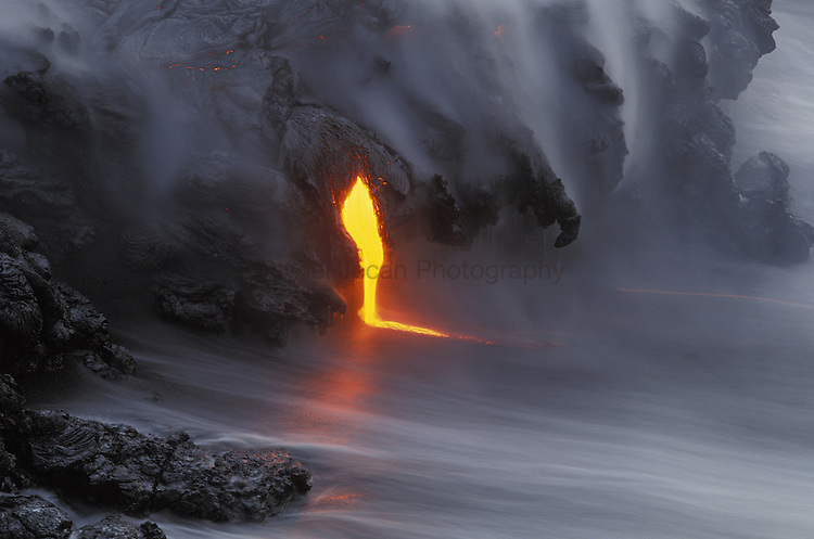 Volcanoes NP, Kiluea eruption ..