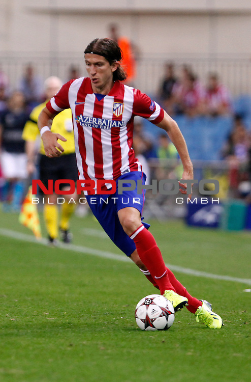 Atletico de Madrid's Filipe Luis during Champions League 2013/2014 match.September 18,2013. Foto © nph / Victor Blanco)