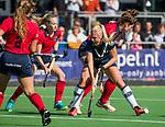 AMSTELVEEN  - , hoofdklasse hockeywedstrijd dames Pinole-Laren (1-3). COPYRIGHT  KOEN SUYK