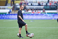 Portland, OR - Saturday June 17, 2017: Mark Parsons during a regular season National Women's Soccer League (NWSL) match between the Portland Thorns FC and Sky Blue FC at Providence Park.