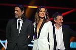 63 Premios Ondas.<br /> Gala de Entrega de los premios.<br /> Nacho Fresneda, Mar Saura & Pere Ponce.