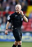 Referee Andy Woolmer during the Sky Bet League One match at Bramall Lane Stadium. Photo credit should read: Simon Bellis/Sportimage