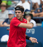 Juan Martin Del Potro..Tennis - US Open - Grand Slam -  New York 2012 -  Flushing Meadows - New York - USA - Sunday 2nd September  2012. .© AMN Images, 30, Cleveland Street, London, W1T 4JD.Tel - +44 20 7907 6387.mfrey@advantagemedianet.com.www.amnimages.photoshelter.com.www.advantagemedianet.com.www.tennishead.net