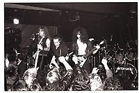 Metallica performing at Broadway Jacks in Chicago. December 15, 1983. CAP/MPI/GA<br /> &copy;GA/MPI/Capital Pictures