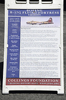 The National Wings of Freedom Tour makes a stop at Lyon Air Museum, at the John Wayne Airport. Four Aircraft of WWII were on display along with Cars and Motorcycles from Circa 1940. On Display from May 10th to May 14th, 2017. Visitors were able to purchase tickets for a flight on the B-17 or B-24 for a 30 min ride. Sponsored by the Collings Foundation, a nonprofit educational organization.