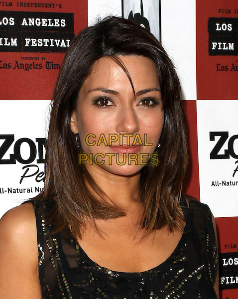 "MARISOL NICHOLS .2010 Los Angeles Film Festival  ""Cyrus"" Gala Screening held at Regal Cinemas, Los Angeles, CA, USA, .18th June 2010..portrait headshot  gold black vest gold .CAP/ADM/KB.©Kevan Brooks/AdMedia/Capital Pictures."