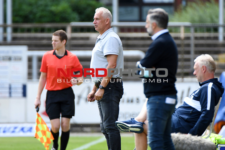28.06.2020, Hänsch-Arena, Meppen, GER, 3.FBL, SV Meppen vs. FC Ingolstadt 04 <br /> <br /> im Bild<br /> Trainer Christian Neidhart (SV Meppen)<br /> <br /> DFL REGULATIONS PROHIBIT ANY USE OF PHOTOGRAPHS AS IMAGE SEQUENCES AND/OR QUASI-VIDEO<br /> <br /> Foto © nordphoto / Paetzel