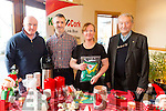 Rory Kerins Cathal Foley, Shirley Doody and Micheal Kerins at the Kerins O'Rahillys Christmas Fair on Sunday afternoon