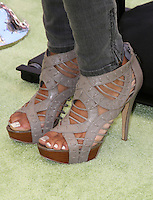 """LOS ANGELES - AUG 5:  Close up of Tempestt Bledsoe's shoes as she arrives at the """"ParaNorman"""" Premiere at Universal CityWalk on August 5, 2012 in Universal City, CA ©mpi27/MediaPunch Inc"""