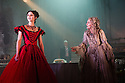 GREAT EXPECTATIONS opens at the Vaudeville Theatre. Directed by Graham McLaren, this is the first time there has been a production as a full-scale stage play either in the West End or Broadway. Picture shows: Grace Rowe (Estella) and Paula Wilcox (Miss Havisham).