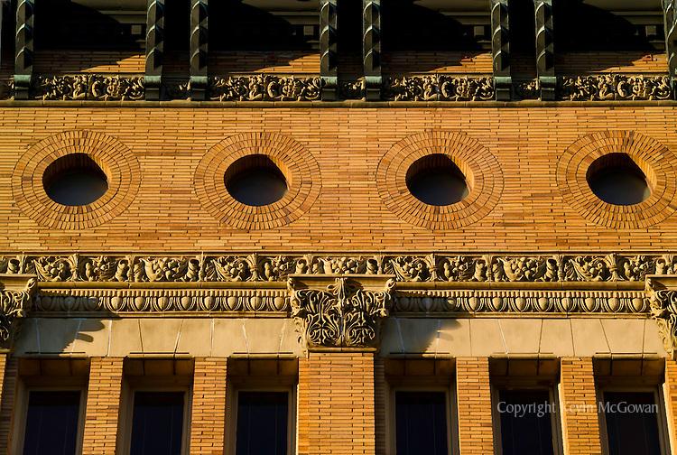 Ornate detail on Tacoma's Italian Renaissance style Old City Hall