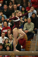 17 February 2006: Aimee Precourt during Stanford's win over the University of Arizona at Burnham Pavilion in Stanford, CA.