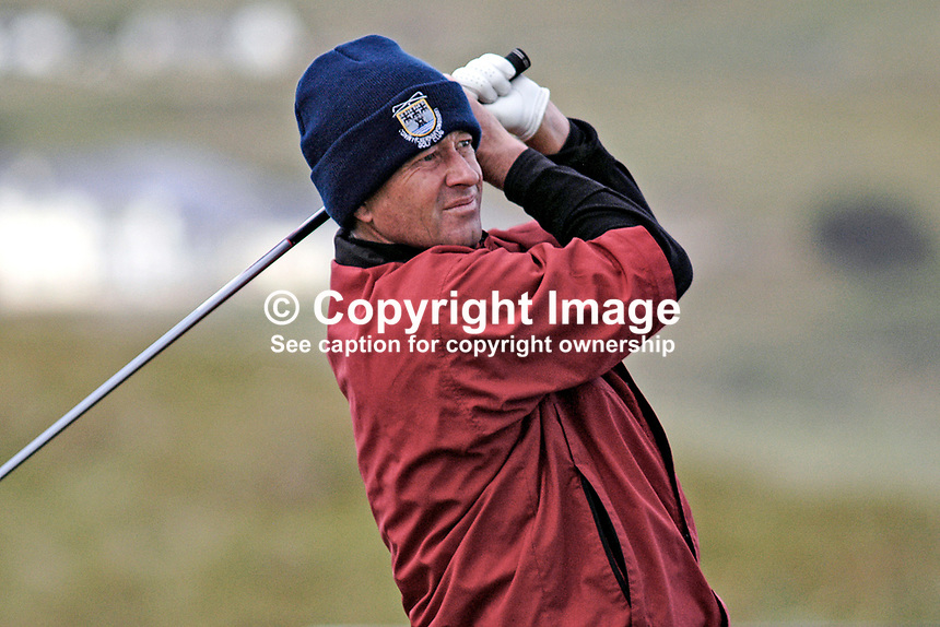 John Hoskison, England , professional, golfer, Irish Seniors Open, Ballyliffin Old Course, Co Donegal, Ireland, 200806207733 ..Copyright Image from Victor Patterson, 54 Dorchester Park, Belfast, UK, BT9 6RJ..Tel: +44 28 9066 1296.Mob: +44 7802 353836.Voicemail +44 20 8816 7153.Skype: victorpattersonbelfast.Email: victorpatterson@mac.com.Email: victorpatterson@ireland.com (back-up)..IMPORTANT: If you wish to use this image or any other of my images please go to www.victorpatterson.com and click on the Terms & Conditions. Then contact me by email or phone with the reference number(s) of the image(s) concerned.