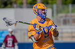 Costa Mesa, CA 03/08/14 - Carl Tilbury (UCSB #9) in action during the MCLA Loyola Marymount vs UC Santa Barbara men's lacrosse game as part of the 2014 Pacific Shootout.  UCSB defeated LMU 12-7 at Le Bard Stadium.