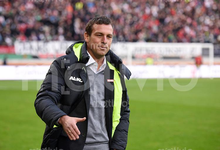 Fussball  1. Bundesliga  Saison 2014/2015  15. Spieltag  FC Augsburg - FC Bayern Muenchen     13.12.2014 Trainer Markus Weinzierl (FC Augsburg)
