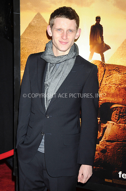 WWW.ACEPIXS.COM . . . . .....February 11 2008, New York City....Actor Jamie Bell arriving at the 'Jumper' premiere at the Ziegfeld Theater in New York City. ....Please byline: KRISTIN CALLAHAN - ACEPIXS.COM.. . . . . . ..Ace Pictures, Inc:  ..(646) 769 0430..e-mail: info@acepixs.com..web: http://www.acepixs.com