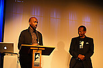 LOS ANGELES - JAN 28: Ntare Guma Mbaho Mwine, Eric Kabera at the 30th Anniversary of 'We Are The World' at The GRAMMY Museum on January 28, 2015 in Los Angeles, California