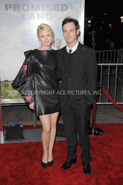 WWW.ACEPIXS.COM . . . . . .December 4, 2012...New York City....Whitney Able and Scoot McNairy attend the 'Promised Land' premiere at AMC Loews Lincoln Square 13 on December 4, 2012 in New York City ....Please byline: KRISTIN CALLAHAN - ACEPIXS.COM.. . . . . . ..Ace Pictures, Inc: ..tel: (212) 243 8787 or (646) 769 0430..e-mail: info@acepixs.com..web: http://www.acepixs.com .