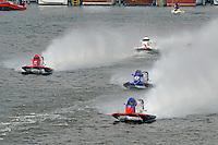 Shaun Torrente (#42), Jose Mendana (#21), Tim Seebold (#16) and Greg Foster (#14)   (Formula 1/F1/Champ class)