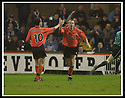 23/11/2002                   Copyright Pic : James Stewart.File Name : stewart-dundee v utd20.JIM HAMILTON IS CONGRATULATED BY JIM MCINTYRE AFTER HE SCORED UTD'S FIRST....Payments to :-.James Stewart Photo Agency, 19 Carronlea Drive, Falkirk. FK2 8DN      Vat Reg No. 607 6932 25.Office     : +44 (0)1324 570906     .Mobile  : +44 (0)7721 416997.Fax         :  +44 (0)1324 570906.E-mail  :  jim@jspa.co.uk.If you require further information then contact Jim Stewart on any of the numbers above.........