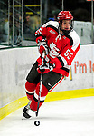 12 December 2009: St. Lawrence University Saints' defenseman Bobby Torney, a Junior from Shelburne, VT, in action against the University of Vermont Catamounts at Gutterson Fieldhouse in Burlington, Vermont. The Catamounts shut out their former ECAC rival Saints 3-0. Mandatory Credit: Ed Wolfstein Photo