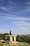 Israel, Upper Galilee, Mount Meron