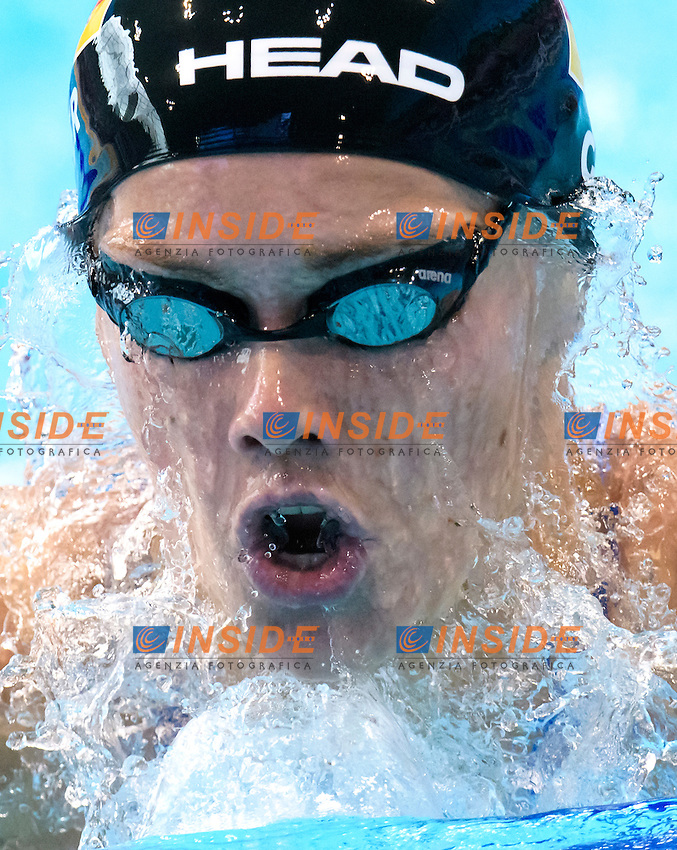Jessica STEIGER GER <br /> 200m Breaststroke Preliminary <br /> London, Queen Elizabeth II Olympic Park Pool <br /> LEN 2016 European Aquatics Elite Championships <br /> Swimming<br /> Day 11 19-05-2016<br /> Photo Andrea Staccioli/Deepbluemedia/Insidefoto