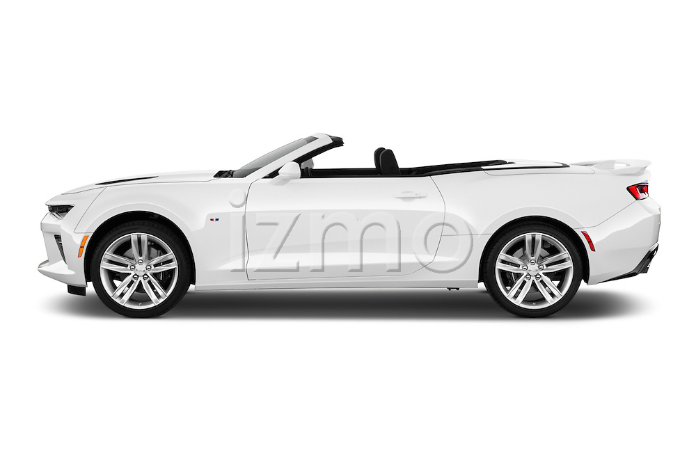 Car Driver side profile view of a 2016 Chevrolet Camaro 2SS 2 Door Convertible Side View